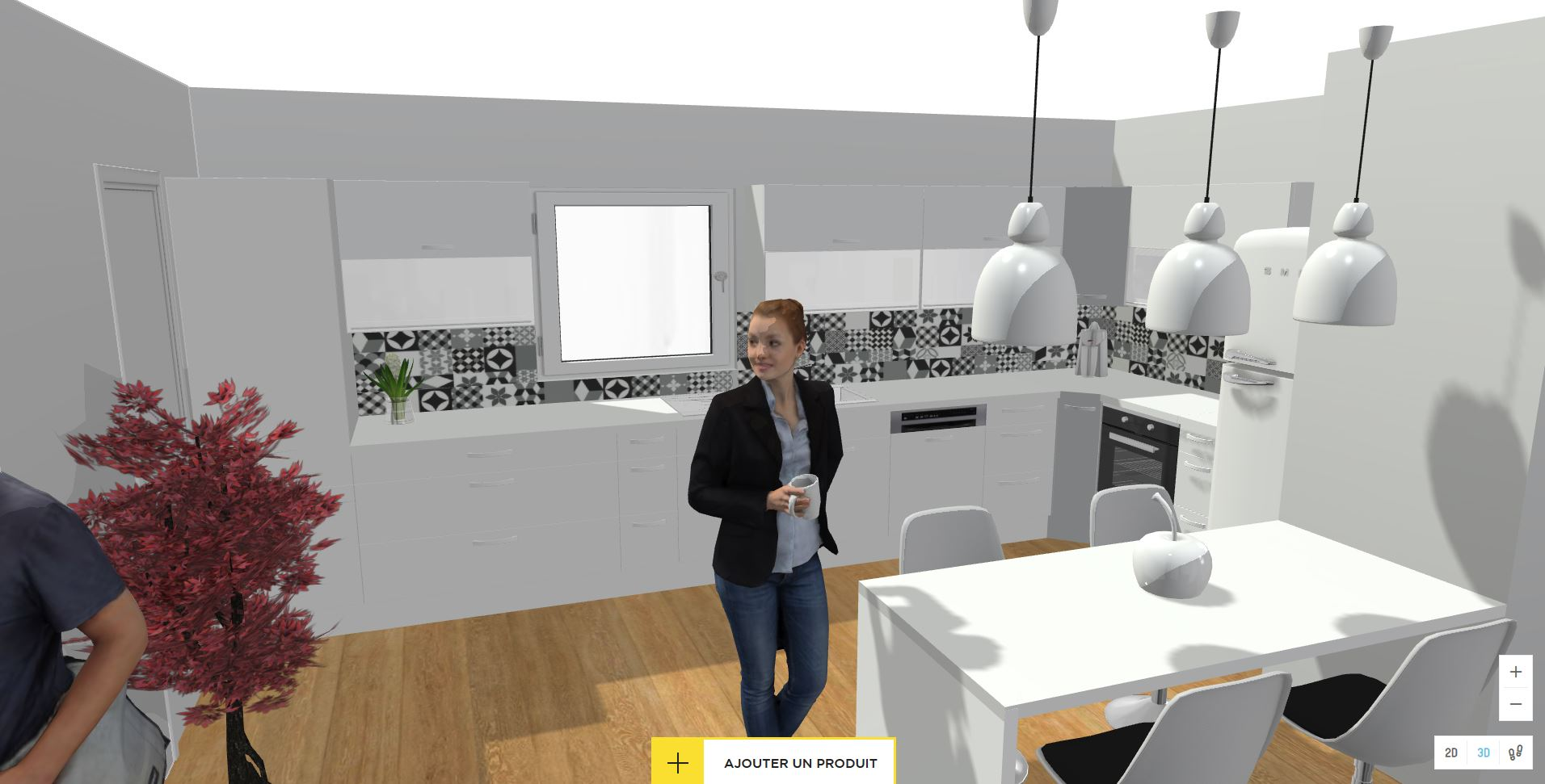 Comparaison cuisine 3D