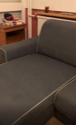 Le style du canapé récupéré