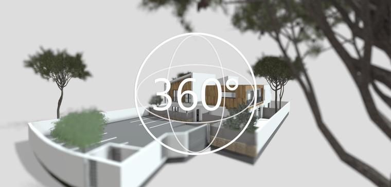 Bâtiment, maquette 3D 360° (B2)
