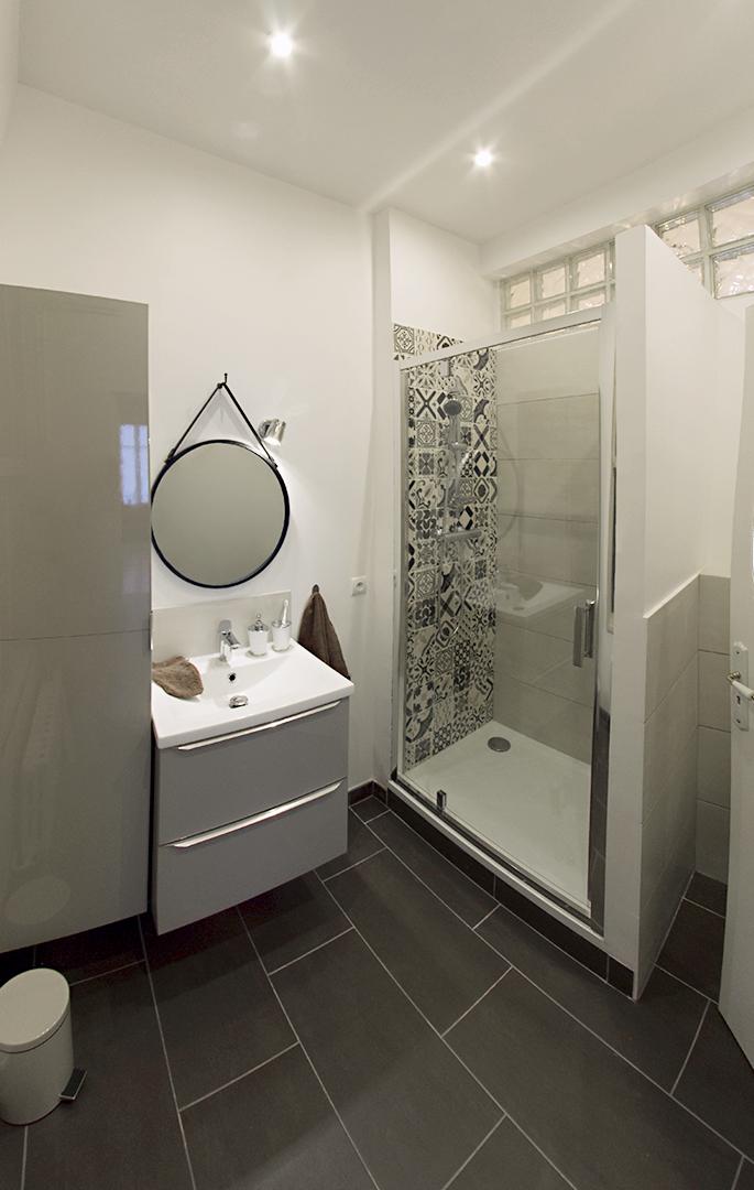 Salle de bain; déco contemporaine