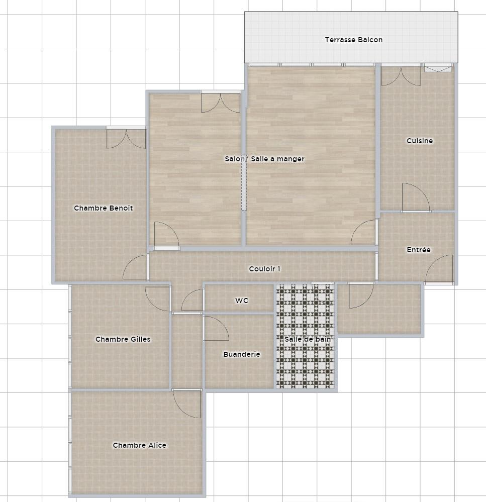 Plan 2D simple sans les cotations