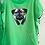 Thumbnail: T-Shirts mit Aufdruck Hunde grün