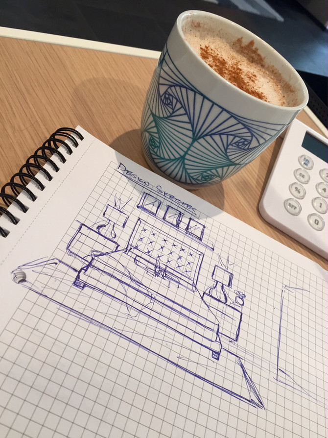 It All Starts With Coffee and a Sketch..