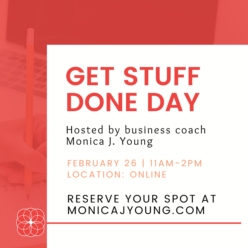 Get Stuff Done Day