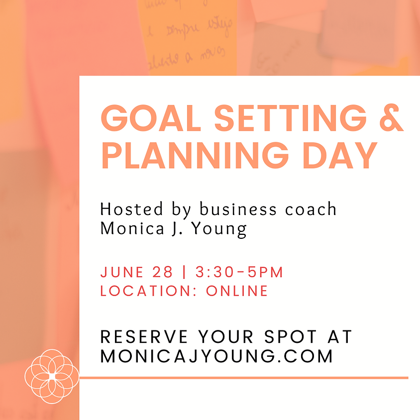 July Goal Setting and Action Plan Workshop