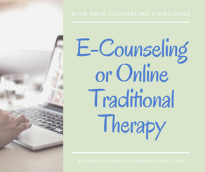 E-Counseling or Online Traditional Therapy: How to Choose