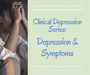 Clinical Depression Series – Video 1 of 3 – Sadness v. Depression and Symptoms of Depression