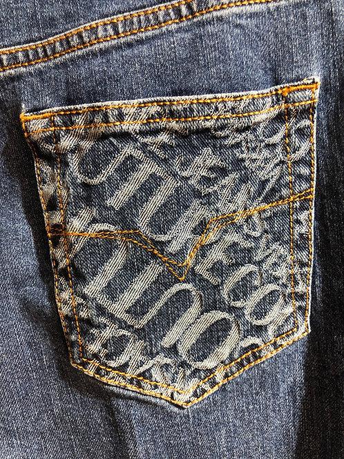 Spodnie jeansowe damskie Versace Jeans Couture