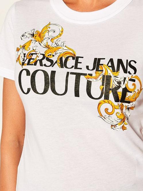 T-shirt damski - VERSACE JEANS COUTURE