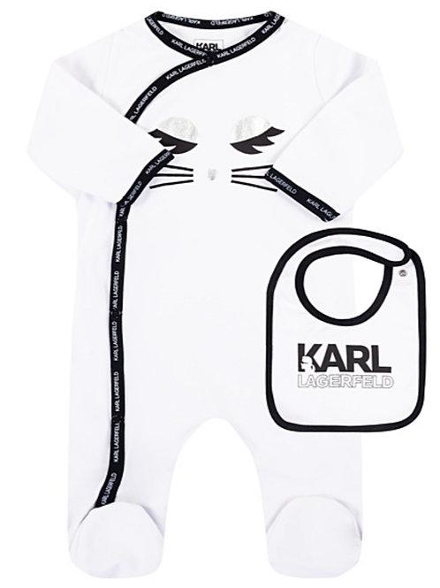 KOMPLET ŚPIOCHY I ŚLINIAK - Karl Lagerfeld