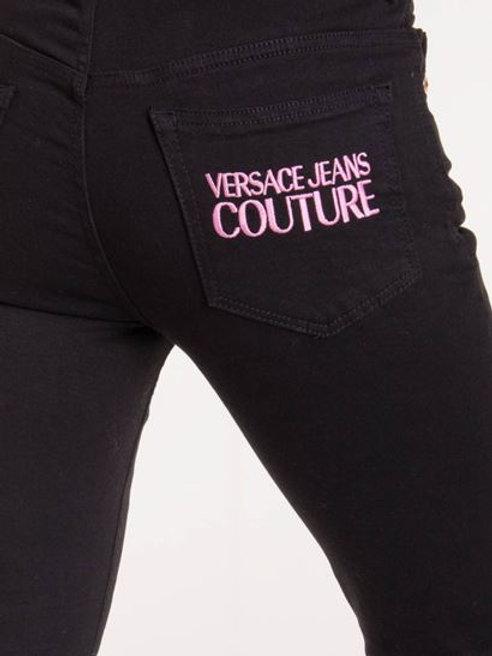 Spodnie jeansy skinny Versace Jeans Couture