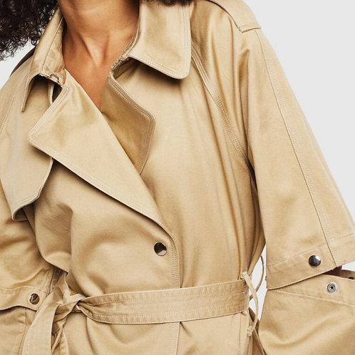 Płaszcz z z odpinanymi rękawami - DIESEL