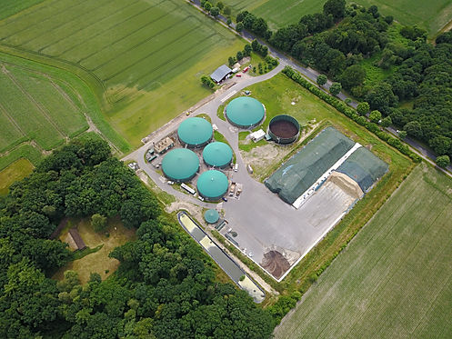 Surface water on biogas plants. We clean the surface water! Sticktoffreduktion ud phosphorus reduction are in addition to the COD reduction to the possible cleaning services. Of course, also on direct discharge quality.