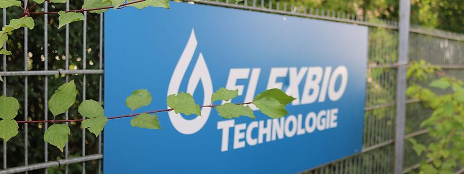FlexBio Techologie Logo, FAQ, wr beanworten Ihre Fragen zu: Abwasserreinigung im allgemeinen, Oberflächenwasser au Biogasanlagen, Fleisch- und Lebensmittelindustrie und zu Industrieabwasser. Und vieles Mehr