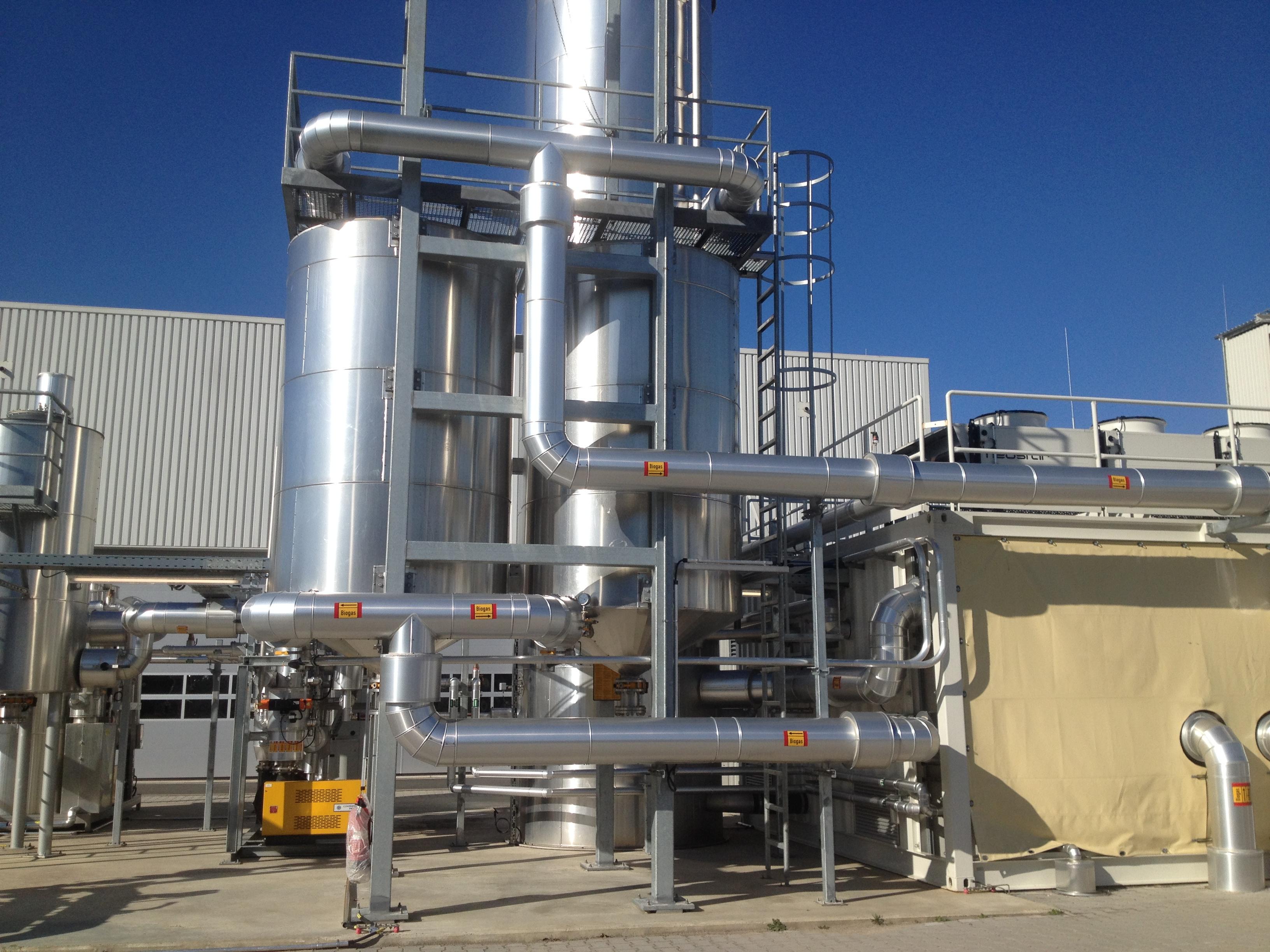 FlexBio Biogas pipeline