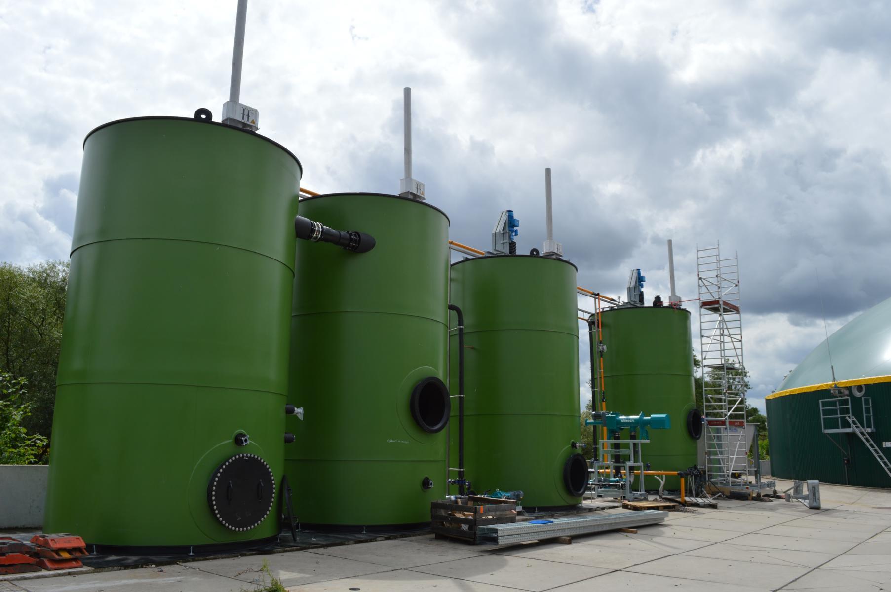FlexBio Biogas plant Bad Hersfeld