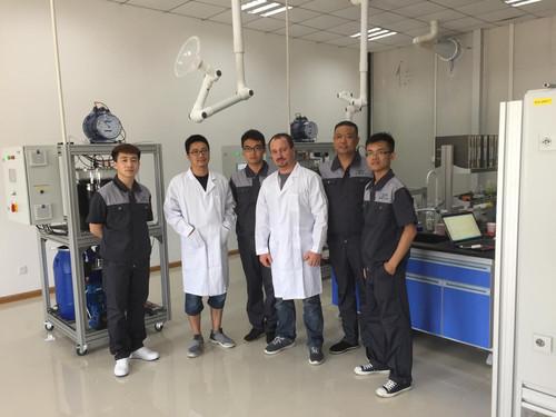 Inauguration pilot plants in Tianjin