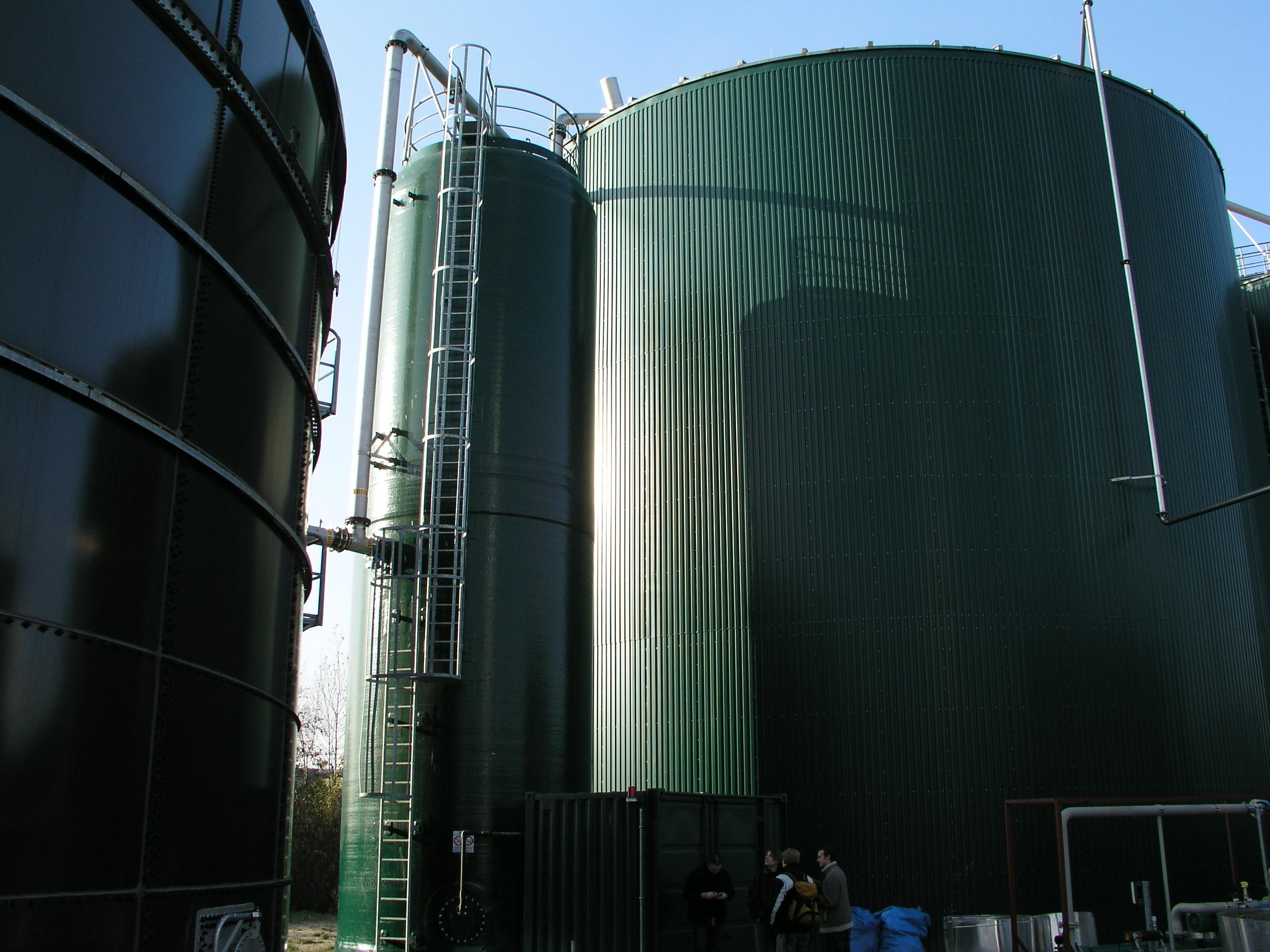 FlexBio Containers Biogas plant