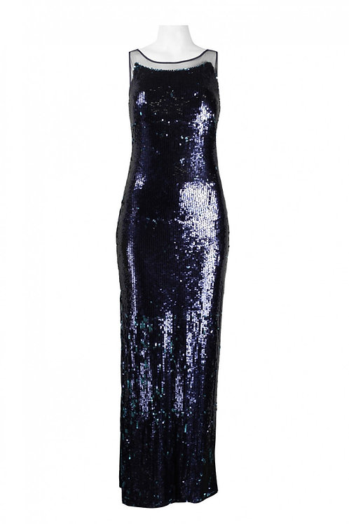 Open Back Full Mermaid Sequin Dress