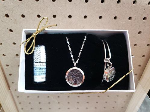 Essential Oil Jewelry Diffusing Box Set