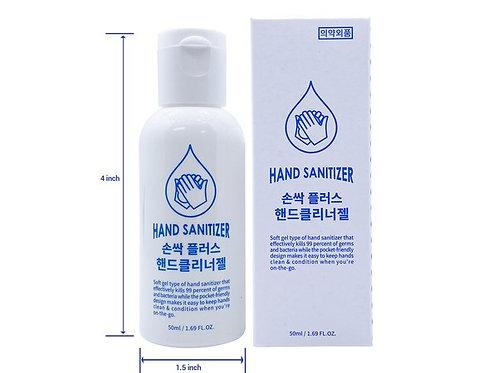 Hand Sanitizer Gel 1.69 oz