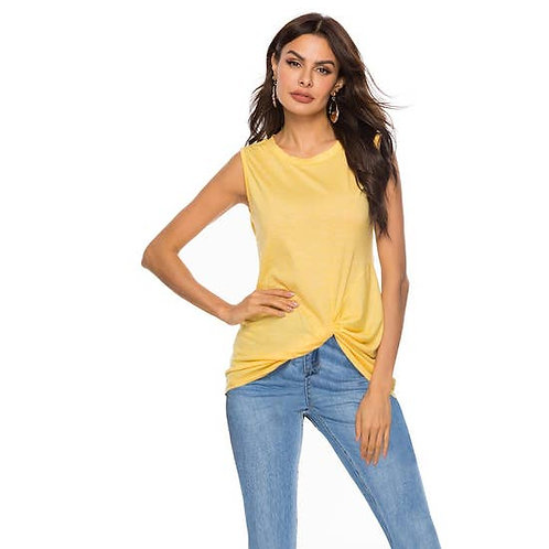 Asher & Emery - Yellow Twist Bottom Tank