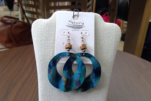 Story by Davinci Wave Earrings