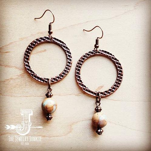 The Jewelry Junkie - Aqua Terra Drop Earrings