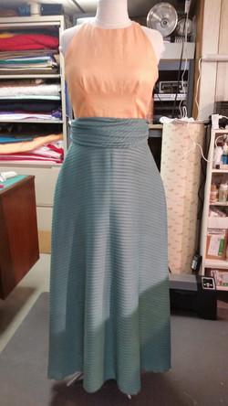 Custom Linen and Silk