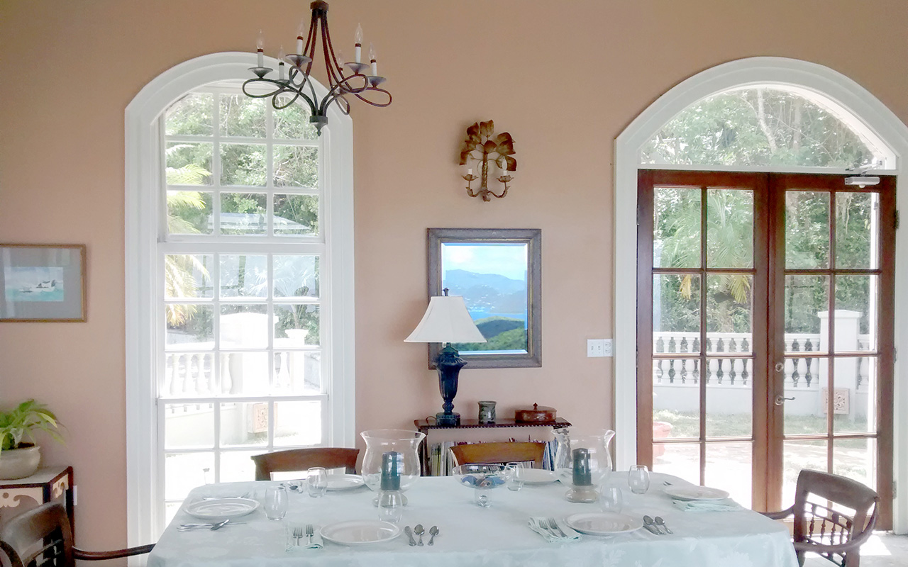 Orchid Court Dining Table