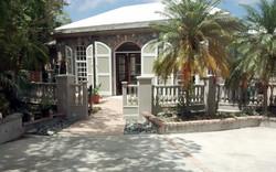 Main House Villa Entrance