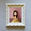 Thumbnail: Sculpted Scalloped Frame -WITH PRINT