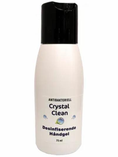 Crystal Clean Desinfiserende Håndgel 75 ml