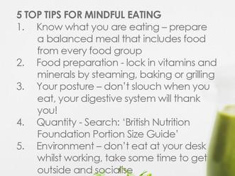Mindful eating...