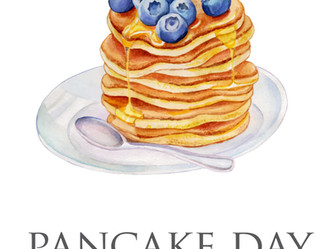 Coming on Tuesday! Did somebody say pancake?