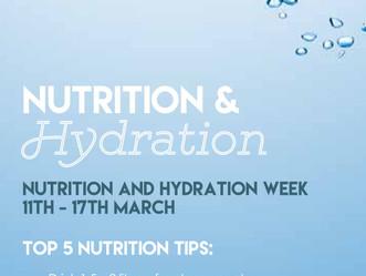 Hydration, hydration, hydration...