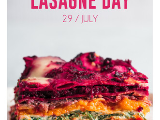 It's National Lasagna Day...