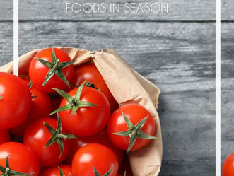 Foods in season...