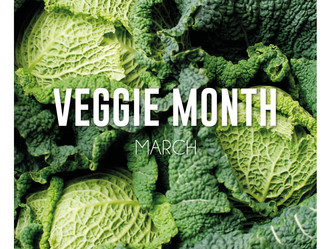 March - the month of veggies
