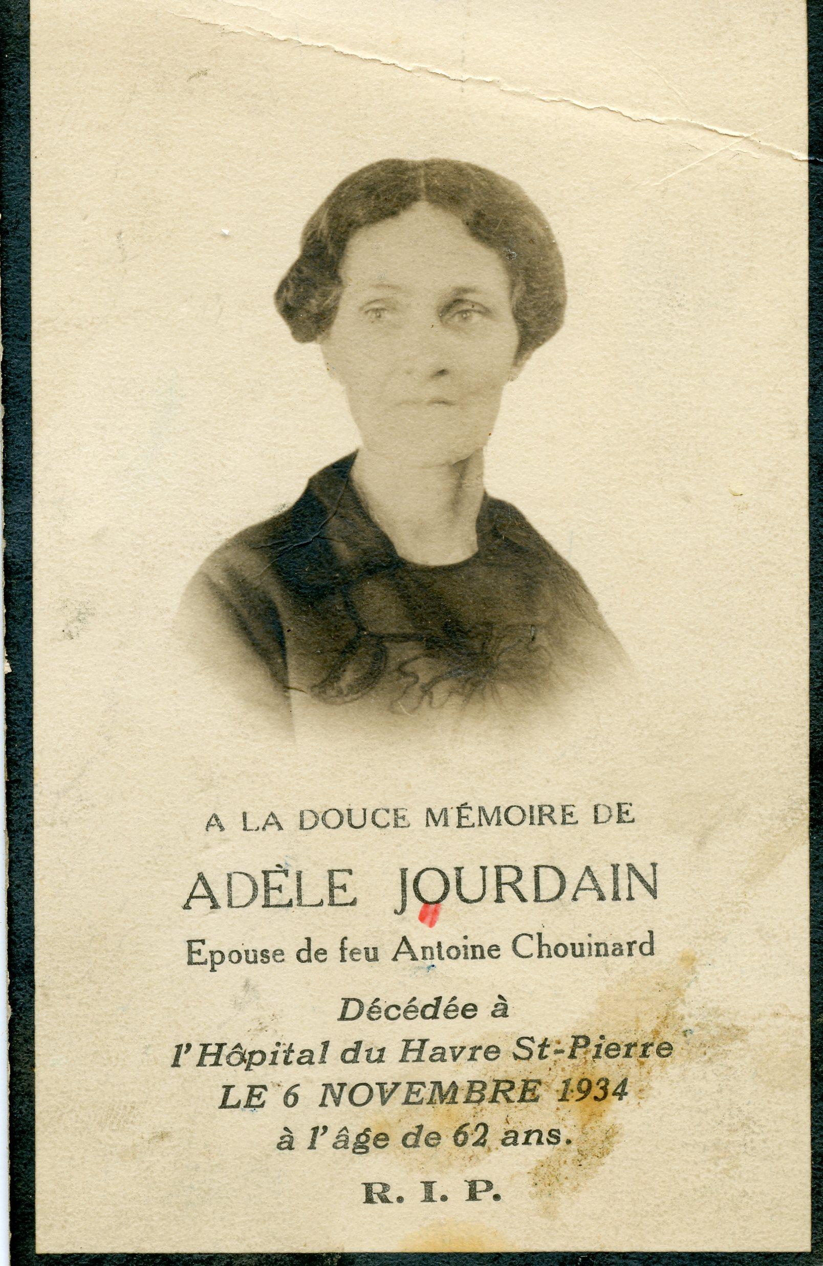 Adèle Jourdain 1872-1934