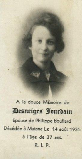 Desneiges Jourdain  1899-1936