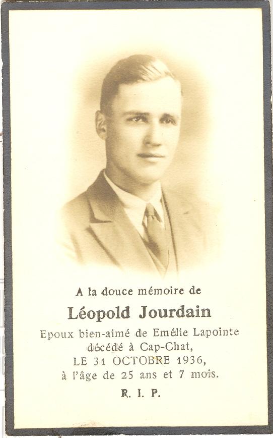 Léopold Jourdain 1911-1936