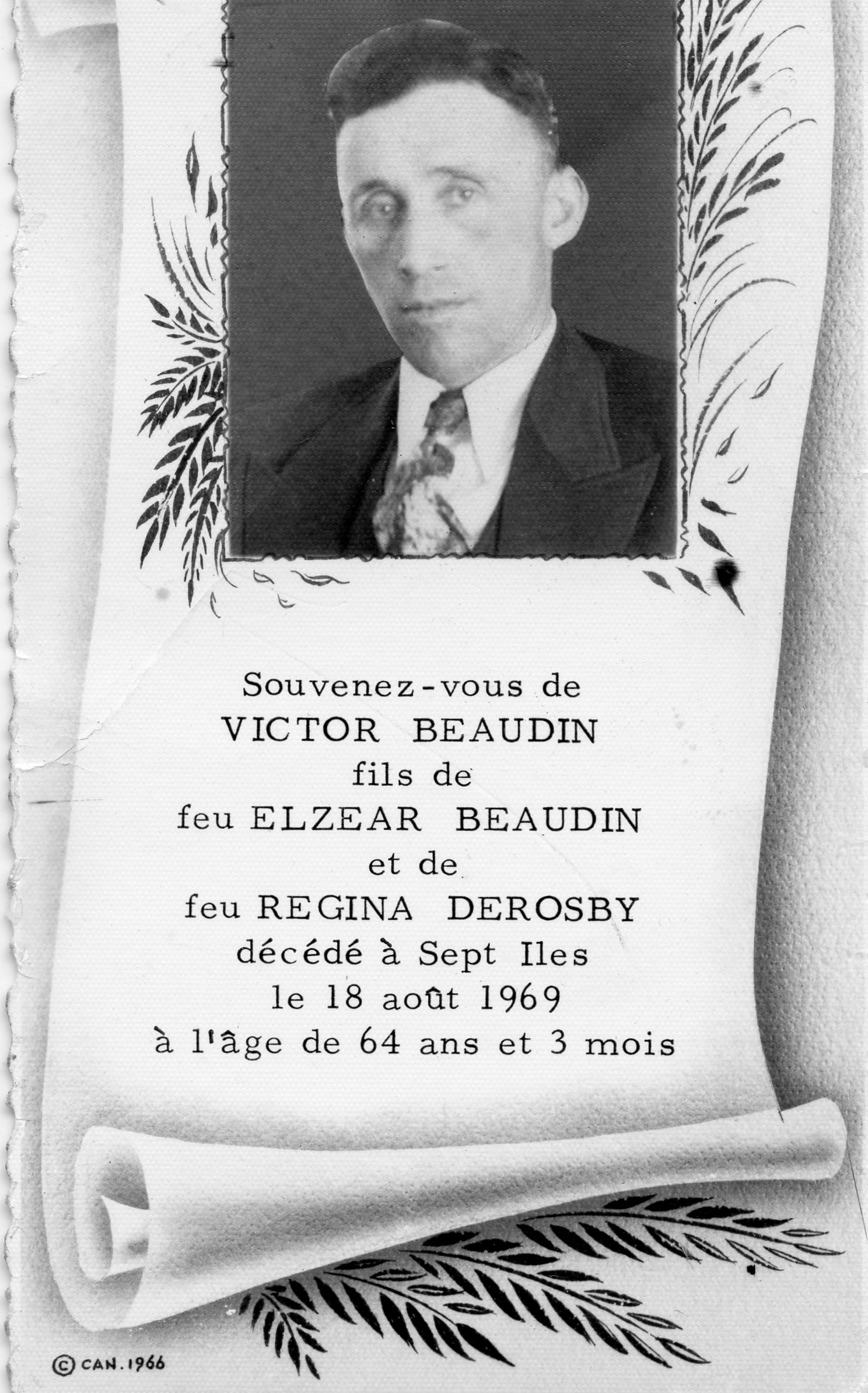 Victor Beaudin  1905-1969