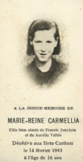 Carmélia Jourdain 1927-1943