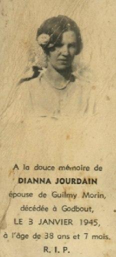 Dianna Jourdain 1907-1945