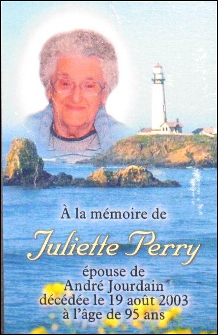 Juliette Perry  1908-2003