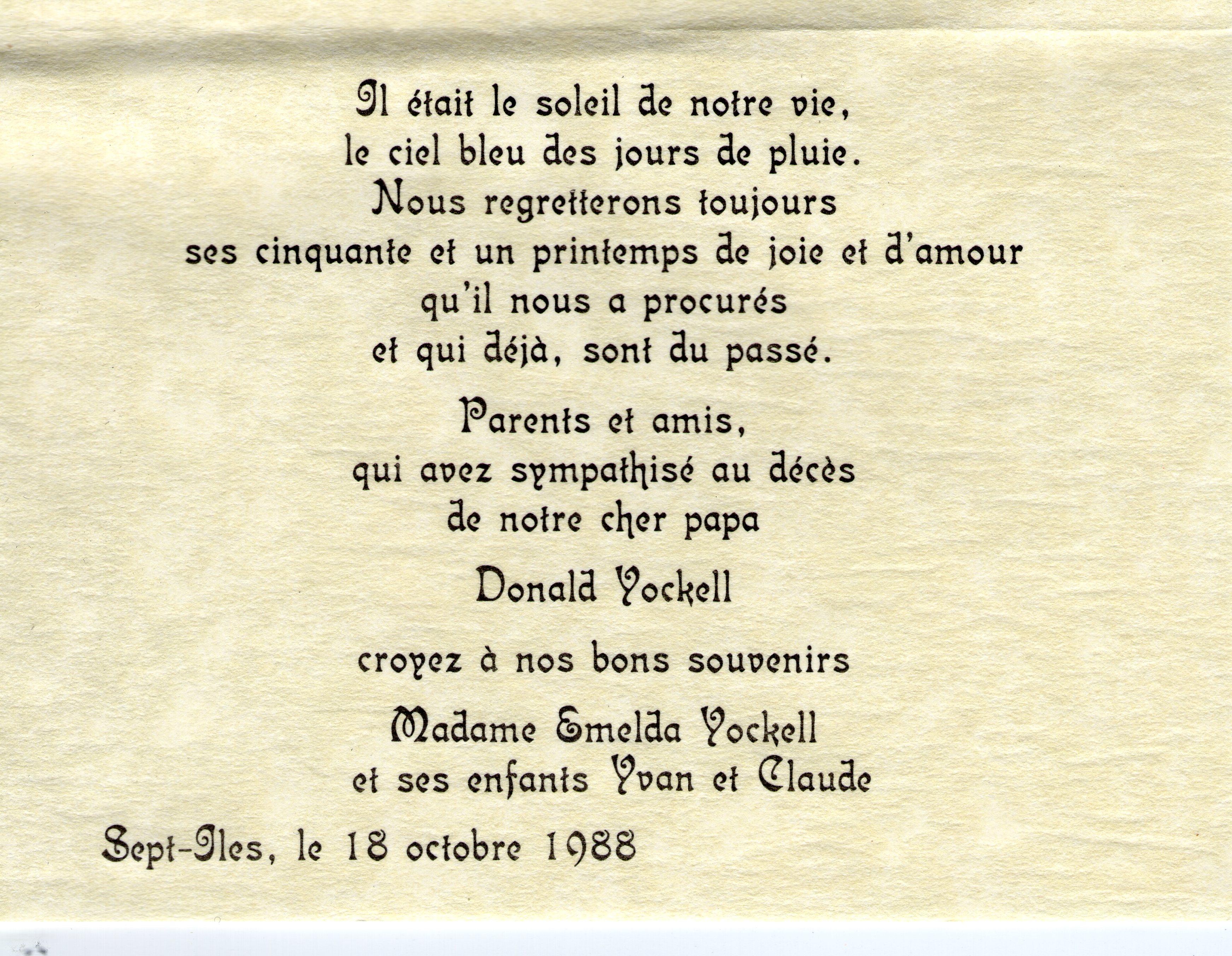 Donald Yockell