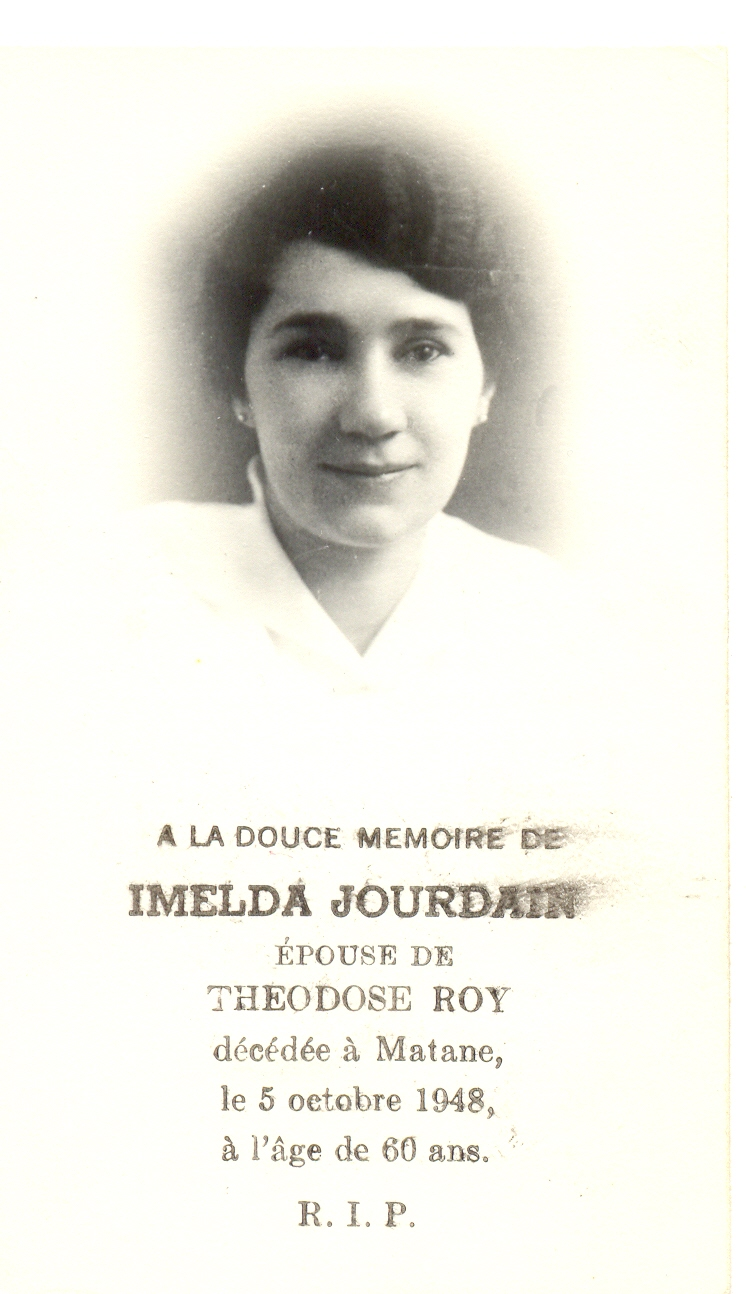 Imelda Jourdain 1888- 1948
