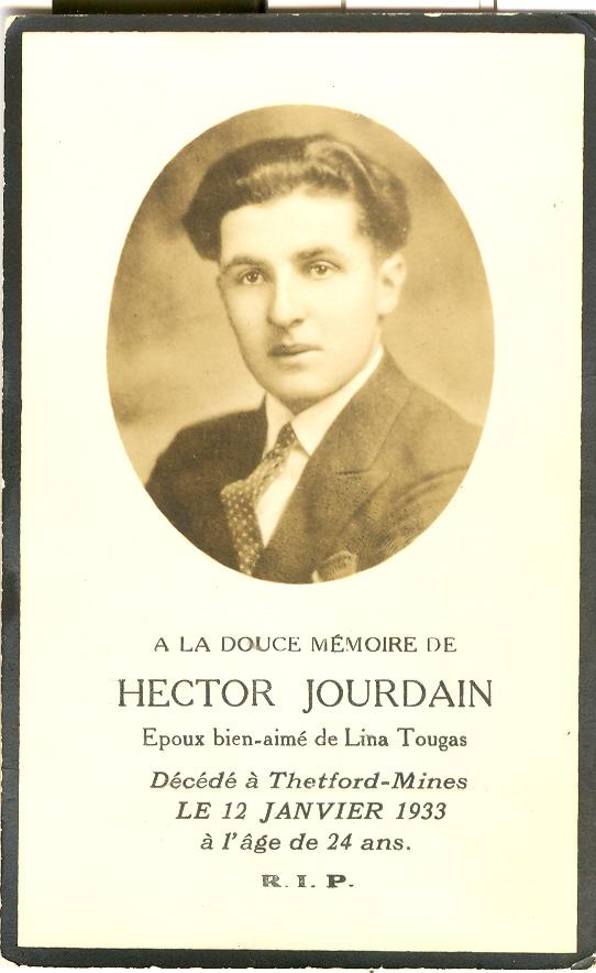 Hector Jourdain 1909-1933