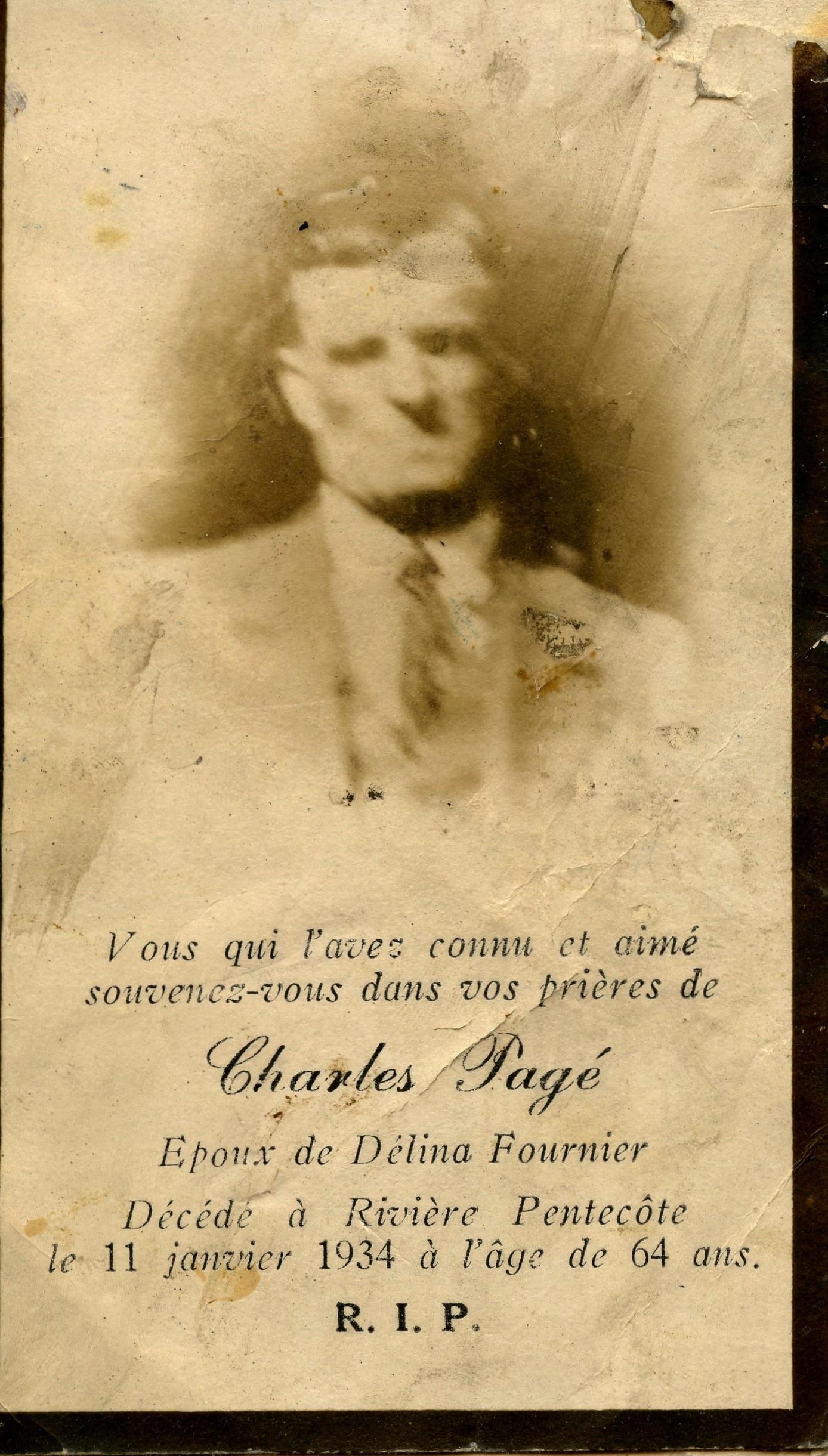 Charles Pagé 1870-1934